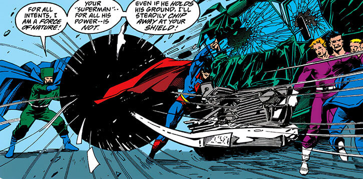 Darius Tiko the wizard of time (DC Comics) (Kirby's Challengers of the Unknown) vs Superman