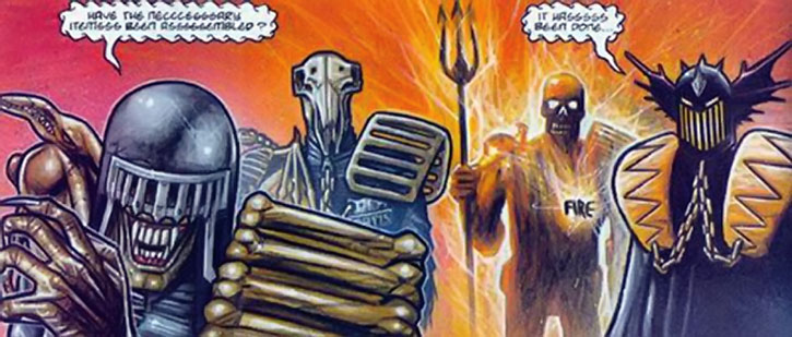 The Dark Judges are coming