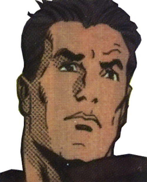 Darkhawk (Marvel Comics) later face closeup