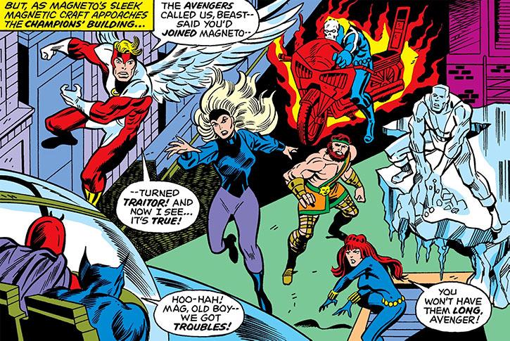 Darkstar - Marvel Comics- Petrovna - Champions - Team ready to attack