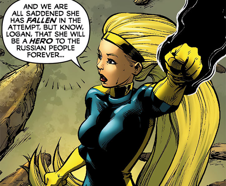 Darkstar - Marvel Comics - Russian super-heroine - Young