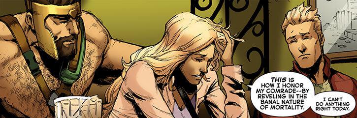 Darkstar - Marvel Comics - Russian super-heroine - No costume