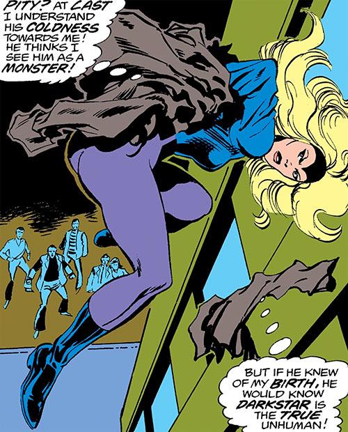 Darkstar - Marvel Comics- Petrovna - Champions - Unhuman