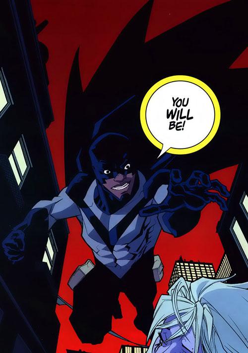 Darkwing 2 (Invincible comics) doing the Batman