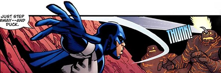 Darkwing 2 (Invincible Comics) vs. Lava Men