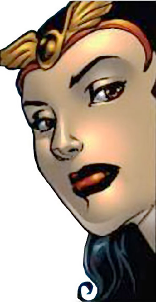 Darna face closeup (Darna comics)