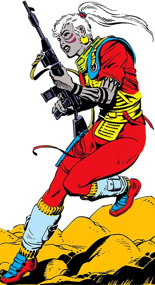 Dart of Atari Force (DC Comics) by Eduardo Barreto