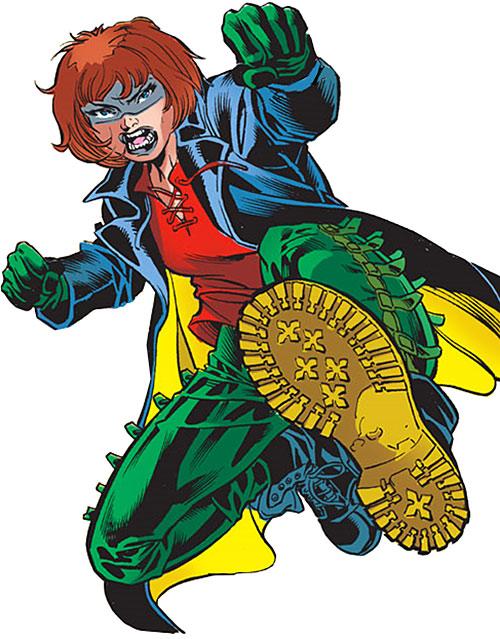 Dava Sborsc (Robin character) (DC Comics)