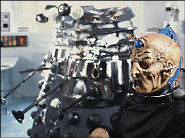 Davros in a lab