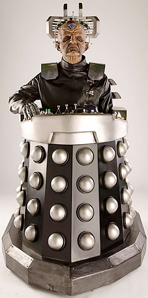 Davros of the Daleks (Doctor Who enemy)
