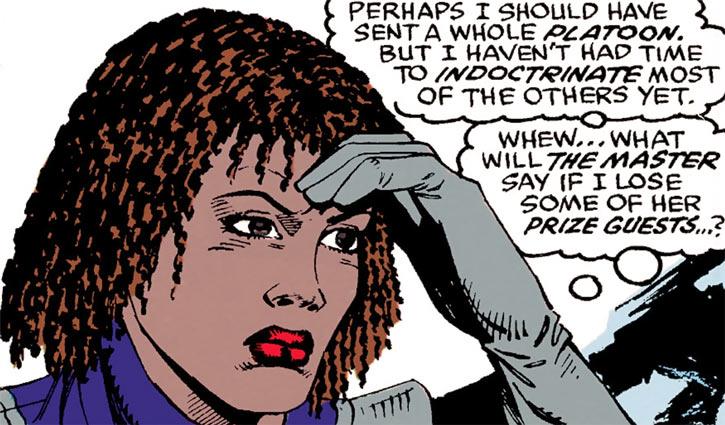 Deadly Nightshade (Tilda Johnson) with braided hair