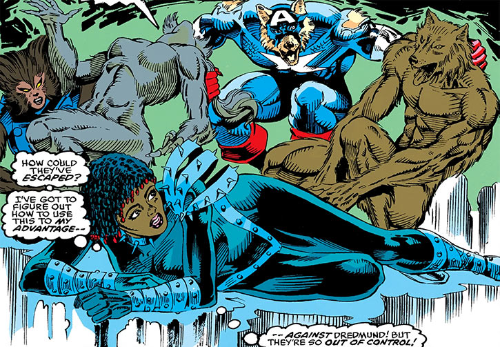 Deadly Nightshade (Tilda Johnson) vs. Capwolf
