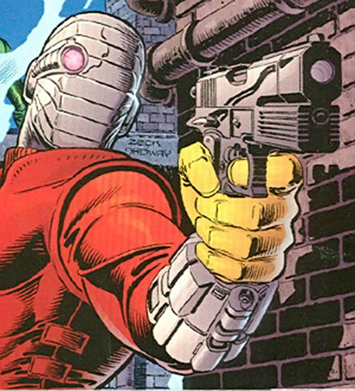 Deadshot with the banded mask