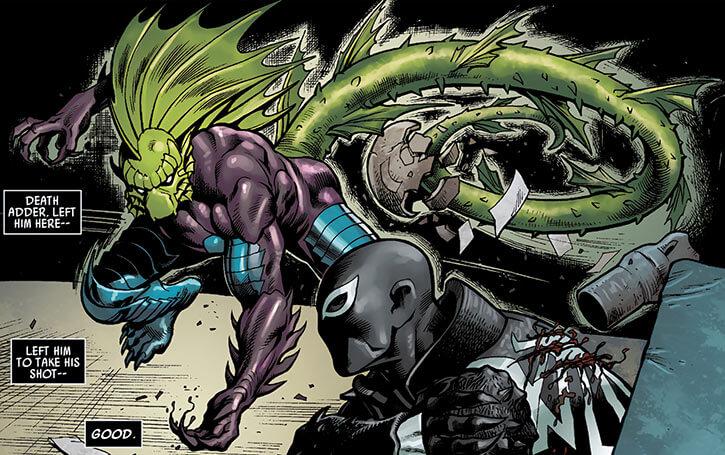 Death Adder (Marvel Comics) vs. Agent Venom