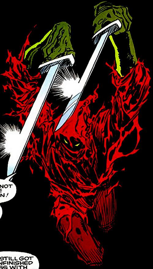 Death Ninja (Ghost Rider enemy) (Marvel Comics)