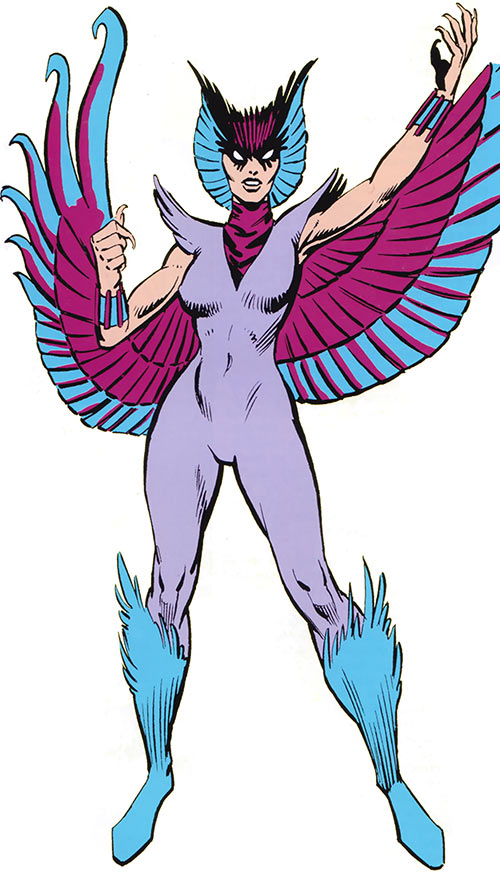Deathbird of the Shi'ar (X-Men enemy) (classic Marvel Comics)
