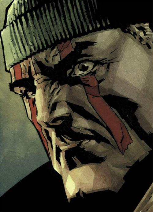 Deathblow (Image Comics) face closeup