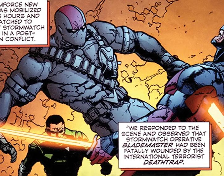 Deathtrap kills Blademaster