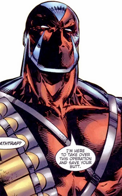 Deathtrap (Image Comics) looking manly