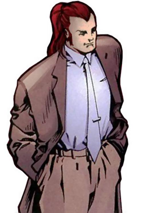 Deathtrap (Image Comics) in his civvies