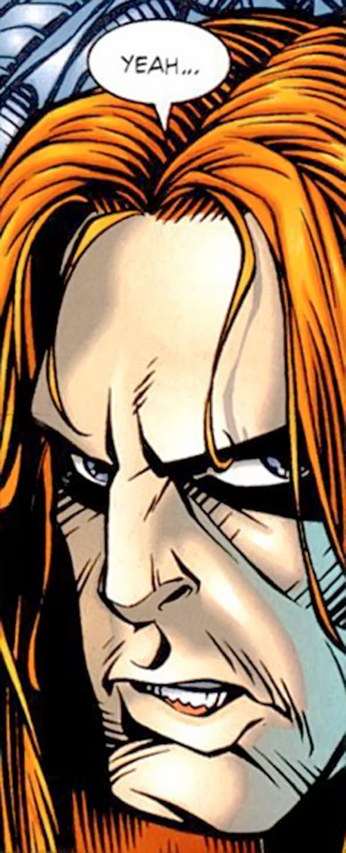 Deathtrap (Image Comics) face closeup