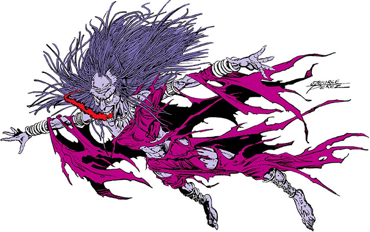 Decay - DC Comics - Wonder Woman enemy - George Perez - 1980s Who's Who