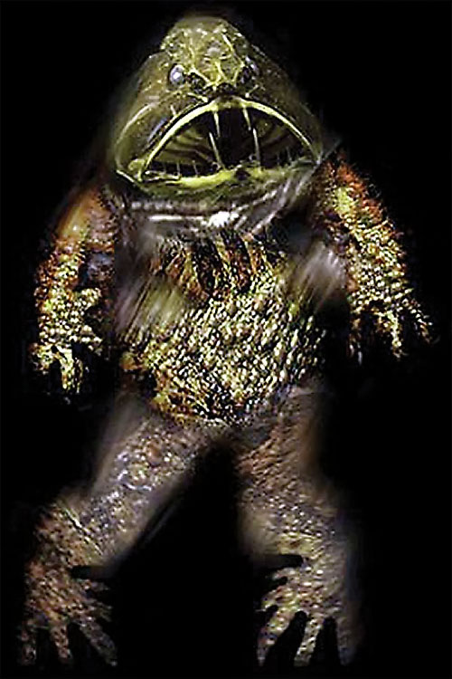 Deep One (Lovecraft Cthulhu mythos) 6/6