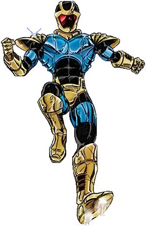 Defender (Champions RPG) older version of the armor