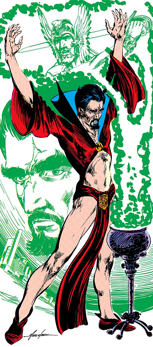 Deimos (DC Comics) (Warlord enemy) from the Who's Who