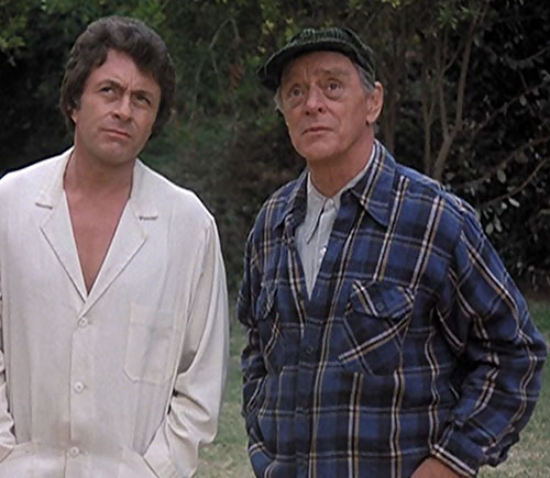 Frye's Creature (Incredible Hulk TV series enemy) Harry Townes and Bill Bixby