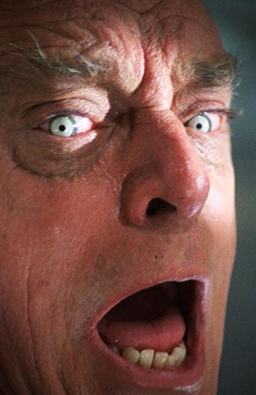 Frye's Creature (Incredible Hulk TV series enemy) Harry Townes gamma eyes