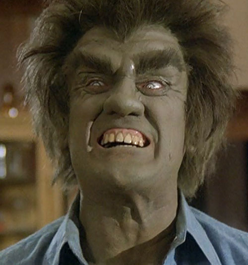 Frye's Creature (Incredible Hulk TV series enemy) roaring face closeup