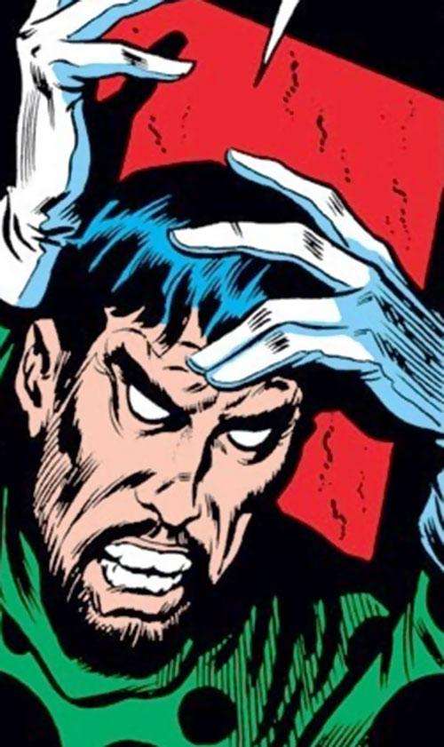 Demitrius (Iron Man enemy) (Marvel Comics) face closeup