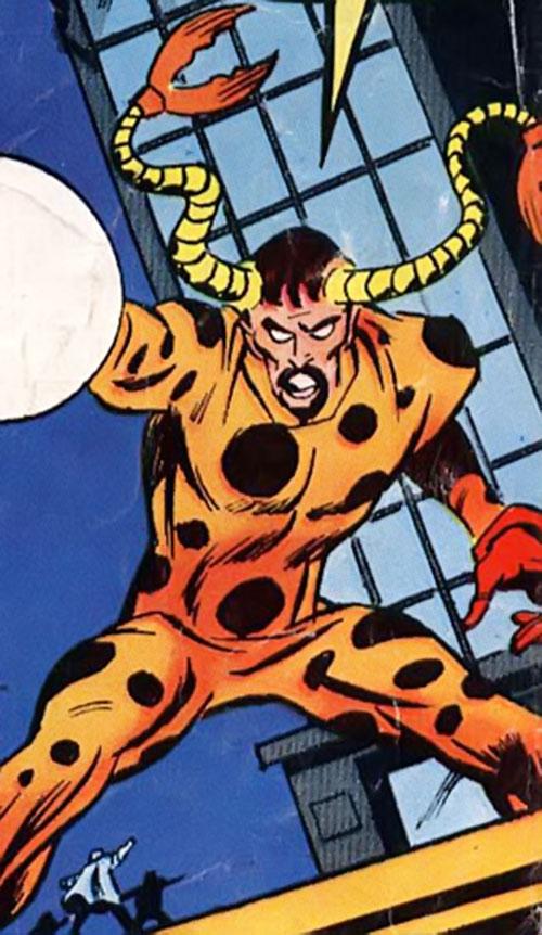 Demitrius (Iron Man enemy) (Marvel Comics) in orange