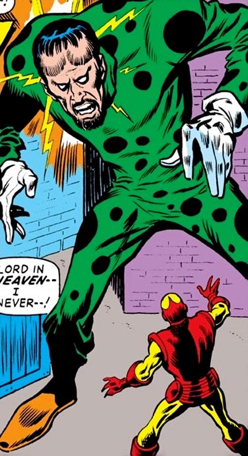 Demitrius (Iron Man enemy) (Marvel Comics)