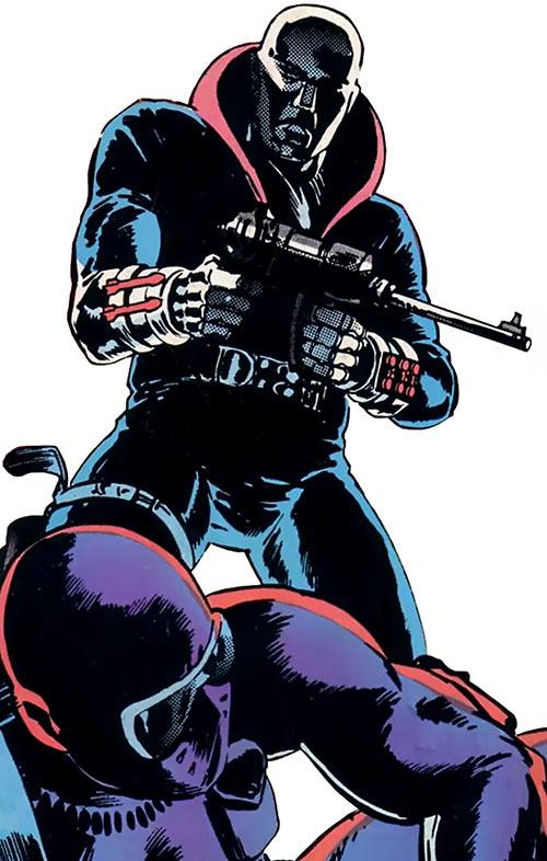 Destro (G.I. Joe) (Marvel comics) and Storm Shadow