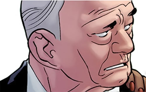 Destroyer (Keene Marlow) (Marvel MAX Comics) face closeup