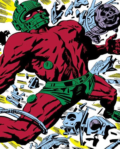 Destruction (Captain America enemy) (Marvel Comics) (Zemo robot)