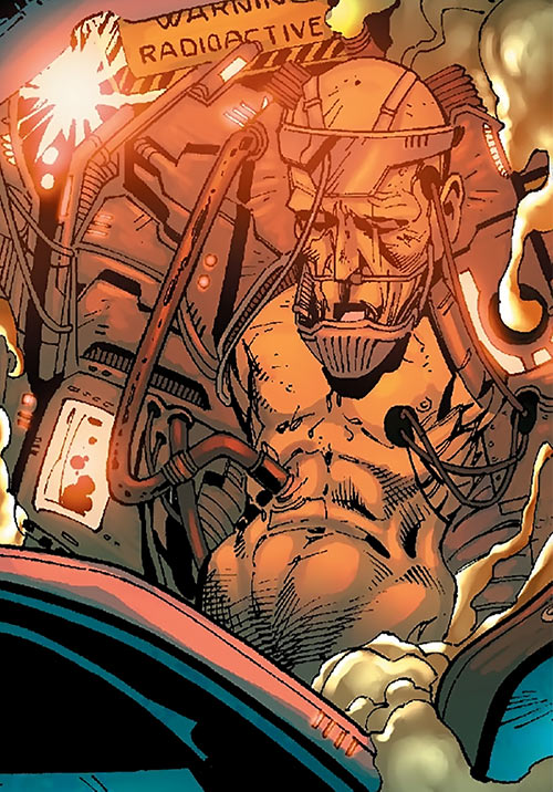 Destructor (Marvel Comics) Kerwin Korman within the Doomsday Man robot