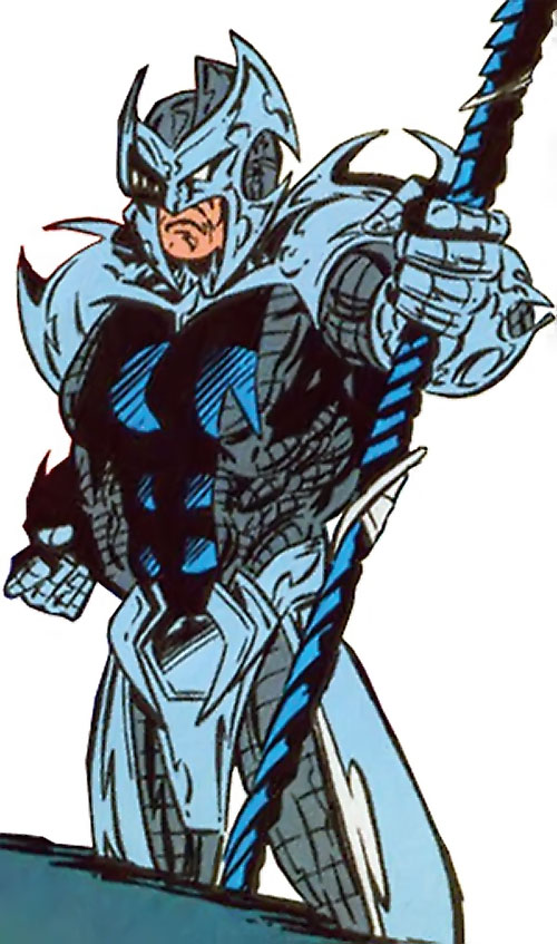 Devastator of the Cadre (JLA enemy) (DC Comics)
