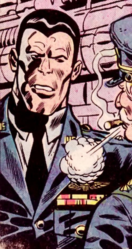 Devastator (Hulk enemy) (Marvel Comics) in his USAF uniform