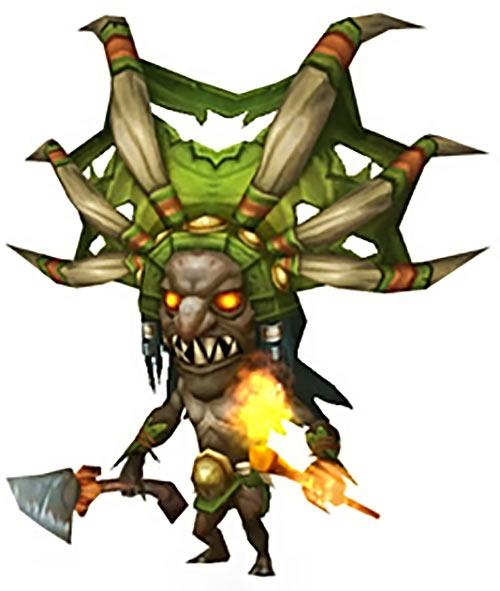 Diablo fetish shaman