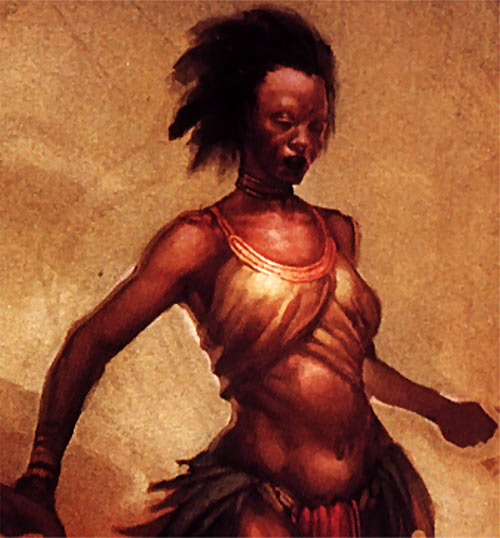 Diablo 3 female witch doctor - Excerpt from the artbook