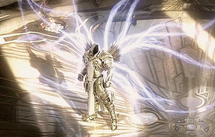 Diablo 3 - Winged Tyrael in the High Heavens