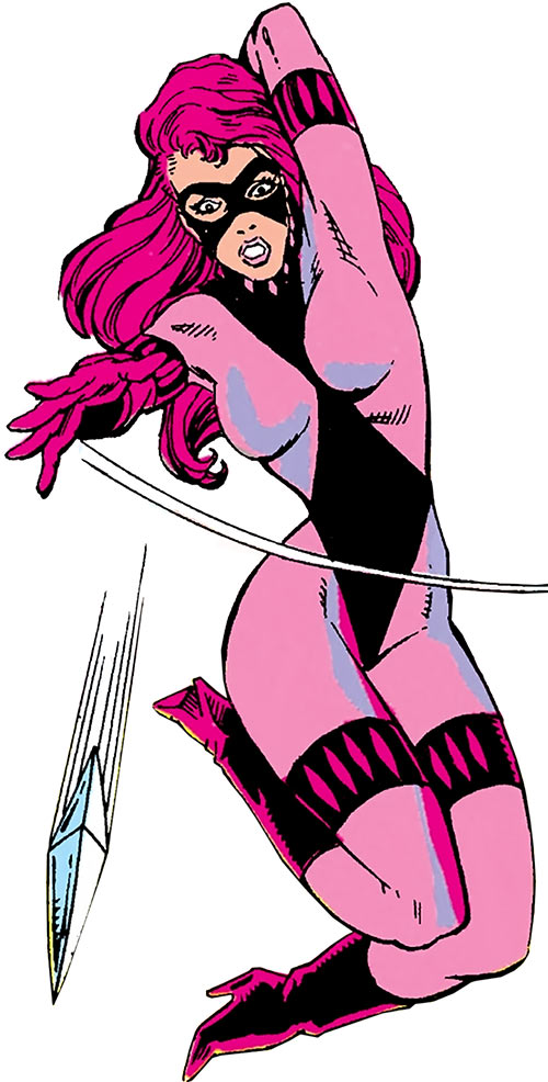 Diamondback (Rachel Leighton) (Captain America ally) (Marvel Comics) Classic