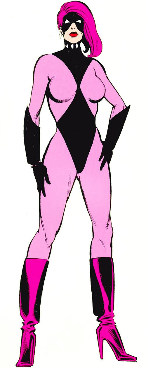 Diamondback (Rachel Leighton) (Captain America ally) (Marvel Comics) Classic from the handbook
