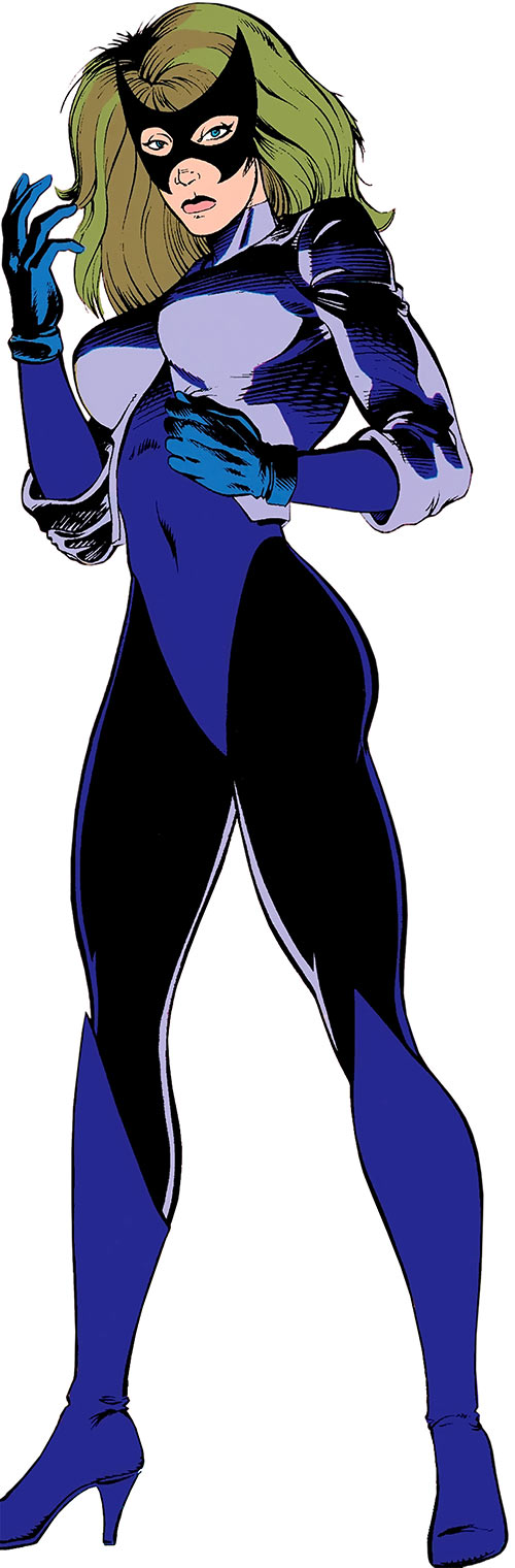 Diamondback (Captain America) (Marvel Comics) with the black and violet costume