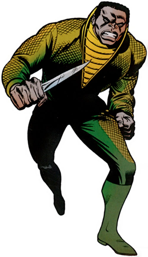 Diamondback (Luke Cage enemy) (Marvel Comics) (Stryker)