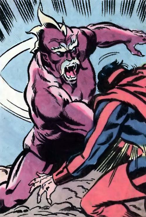 Dibbuk (Ruby Thursday ally) (Marvel Comics) vs. Omega the Unknown