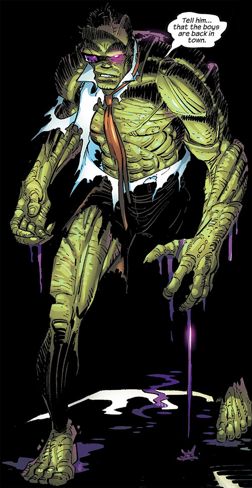 Digger (Spider-Man enemy) (Marvel Comics) (Las Vegas 13) in darkness
